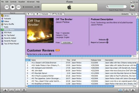 OTB Podcast Moving Up the iTunes Charts!   Off The Broiler